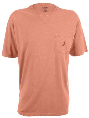 Reel Legends Mens Pigment Dyed Pocket T-Shirt