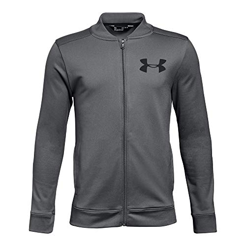Under Armour Boys Pennant Jacket 2.0, Graphite (040)/Black, Youth Large