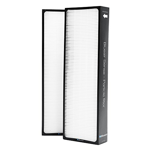 Blueair Sense Replacement Filter, Particle and Activated Carbon for Pollen, Mold, Dust, Odors, and VOC Removal, Genuine Blueair Filter Compatible with Sense+ and Sense Air Purifiers