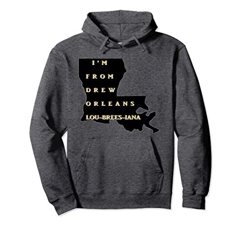New Orleans Football Shirt Saints Hoodie WhoDat ()
