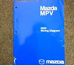 2003 mazda mpv van electrical wiring diagram service repair shop rh amazon com 2003 mazda protege radio wiring diagram 2003 mazda mpv wiring diagram