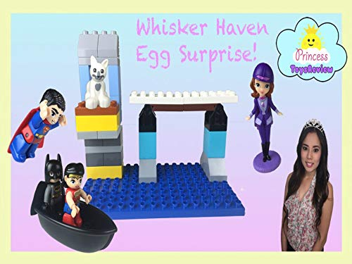 Clip: Lego Duplo Batman Adventure Toy Unboxing with Princess ToysReview!