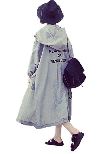[ユリカー] レディース ロング カーディガン コート 長袖 プリント 薄手 日焼け 冷房対策 UVカット カジュアル bf風 リゾート 大きいサイズ