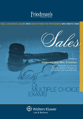 Friedman's Practice Series: Sales