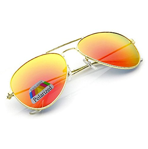 para Gafas Naranja sol de hombre 4sold xqtpYSFww
