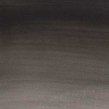 Winsor & Newton Cotman Watercolour Paint Half Pan - Lamp Black 337 - 337 Lamp