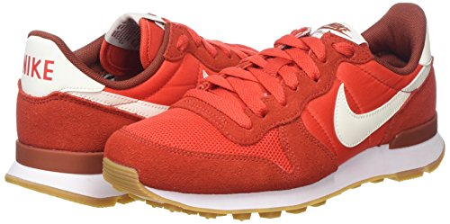 Nike 613 Red sail Zapatillas mars habanero Rojo Para Stone Internationalist Mujer rwZnxwCP