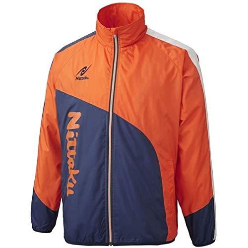 トレーニングハウス田舎者ニッタク(Nittaku) ライトウォーマー CUR シャツ NW2840 オレンジ 3S