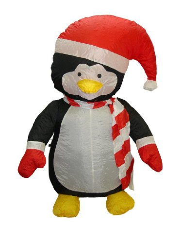 Inflatable Penguin Christmas