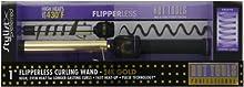 Hot Tools HTG1860 Flipperless Curling Wand, Gold/Black