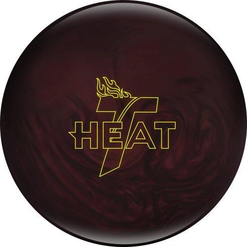 (Track Heat Bowling Ball, Maroon Pearl, 12 lb )