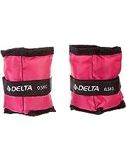 Delta FEA346 Delta Fuşya Çiftli Ayak & El Bileği Ağırlığı - 2 Adet X 0, 5 Kg. Unisex, Tek Renk, Tek Beden