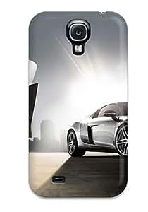 Faddish Phone Audi R8 Desktop Wallpaper Case For Galaxy S4 / Perfect Case Cover