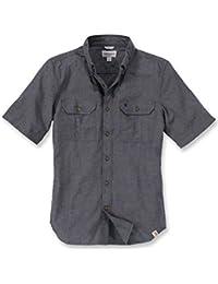 Men's Fort Short-Sleeve Shirt Lightweight Chambray...