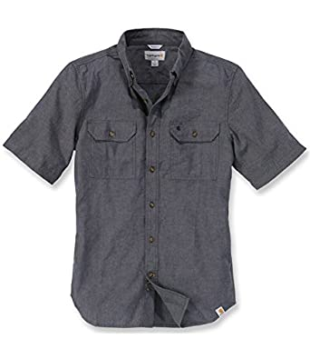 80f0843393f Carhartt .S200.BKC.S008 Fort Solid Short Sleeve Shirt