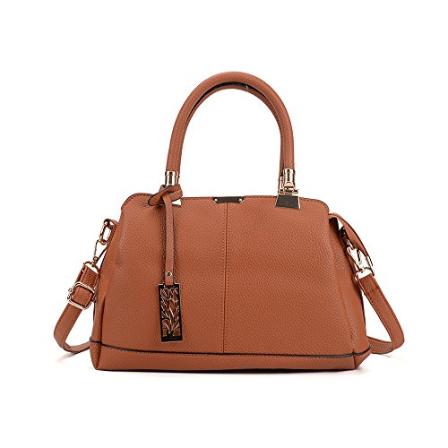 Bag Satchel Tendencias Moda Blanco Bolso Bag Señoras brown Nuevo Bolso De Meaeo Hot wxq8n8