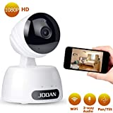JOOAN 1080P Wireless Security Camera Home WiFi IP Camera Indoor for pet Baby with 2 Way Audio/Night Vision/Motion Detection