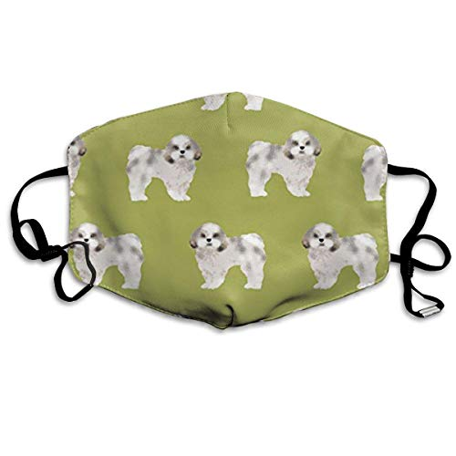 shang mao Shih Tzu Cute Dog Unisex Anti-dust Solid Cotton Earloop Face Mouth Mask Muffle