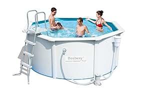 """'hydrium Juego de pared Pool Acero """"Neptune 305x 122cm con bomba de filtro + accesorios"""