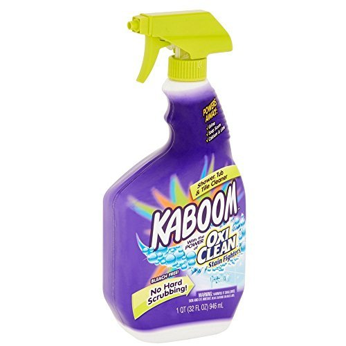 Cleaner Shower (Kaboom Shower, Tub & Tile Cleaner with Oxi Clean 32 oz (Pack of 2))