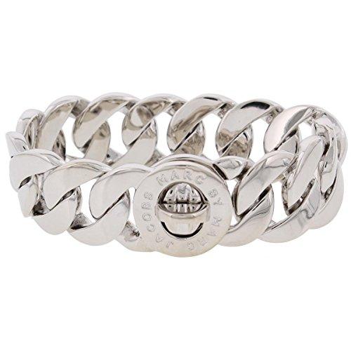 - Marc by Marc Jacobs Womens Katie Logo Chain Link Bracelet O/S