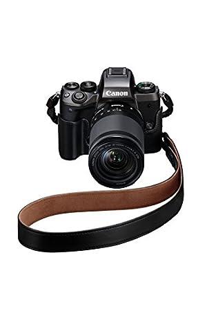 Color marr/ón Canon EM-E2 Correa de Nylon para el Cuello Compatible con EOS M5