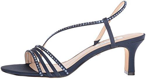 Nina Women's Gerri Dress Sandal, New Navy LS Sat/Navy Ston, 9 M US