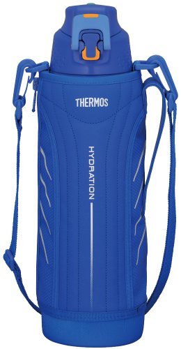 Japanese THERMOS Vacuum Insulation Sports Cool Bottle 1.5L Blue FFZ-1500F