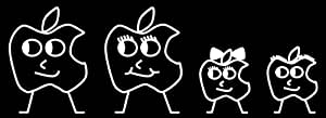 APPLE Family Car Decals Stickers ORIGINAL! DURABLE! NEW!