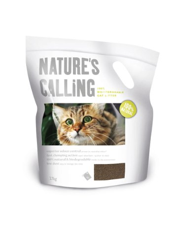 Nature's Calling Cat Litter, 2.7kg, (Pack of 5)