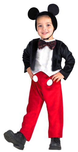 Original Mickey Mouse Costume (Mickey Mouse Deluxe Child Costume - Small)