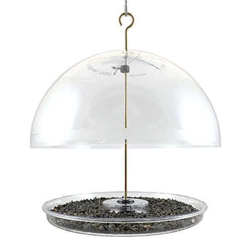 Droll Yankees Dorothy's Cardinal Domed Bird Feeder, 15 Inches