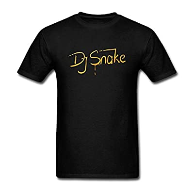 SUNRAIN Men's DJ Snake Logo T Shirt