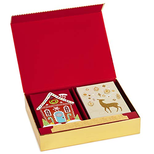 Hallmark Boxed Handmade Christmas Card Assortment (24 Cards and Envelopes) Photo #3