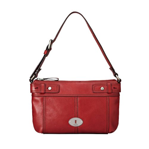 Marlow Top Zip Color: CLARET RED, Bags Central
