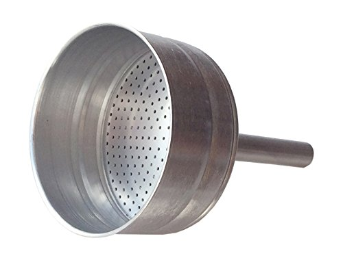 Cuisinox FUN-L6 Replacement Stainless Steel Funnel Filter for The 6 Cup Liberta & Bella Espresso ...