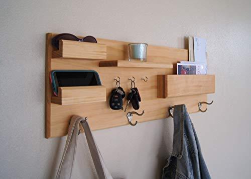 Home Organization Hooks Entryway Organizer Coat Rack -