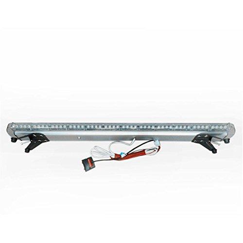 VSLED 12V-24V 55Inch 104 LED Wrecker Beacon Flashing Recovery LightBar Strobe Light Bar Emergency LED LightBar Amber LED Light