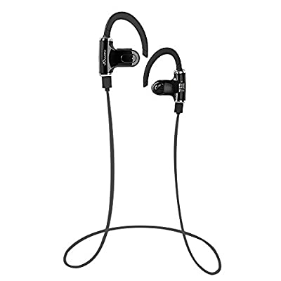 PLAY X STORE Wireless Bluetooth 4.0 Stereo Handfree Exercise/Running/Sports & Gym Headset Earphone Headphone With Microphone For Android Smartphone and other Bluetooth-enabled tablets (Black/S530)