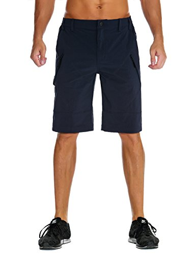 - Unitop Men's Cargo Shorts Quick Dry Outdoor Hiking Shorts Sapphire 32