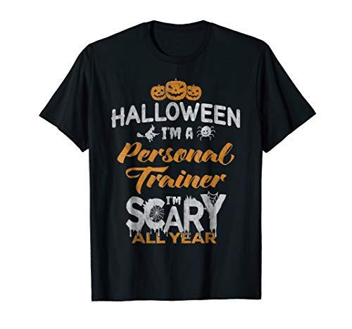 Personal Trainer Halloween Costume Gift Tshirt]()