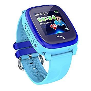 JBC GPS-Telefon Uhr - Kleiner Pirat - Wasserdicht OHNE Abhörfunktion, für Kinder, SOS Notruf+Telefonfunktion, Live GPS+LBS Po