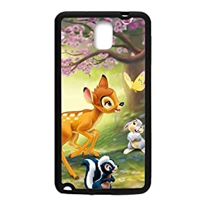 Spring scenery deers and lovely small animal Cell Phone Case for Samsung Galaxy Note3