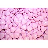 PINK MINI HEART CHOCOLATE DRAGEES WEDDING FAVOURS X200