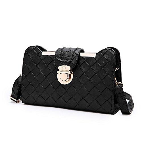 Versione coreana dello zaino obliquo della spalla, borse, catena piccola borsa quadrata, mini pacchetto semplice selvatico delle signore