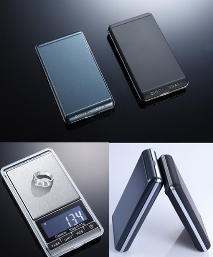 Tomtop 100g x 0.01g Mini Digital Jewelry Pocket Scale LCD by Gadgets World