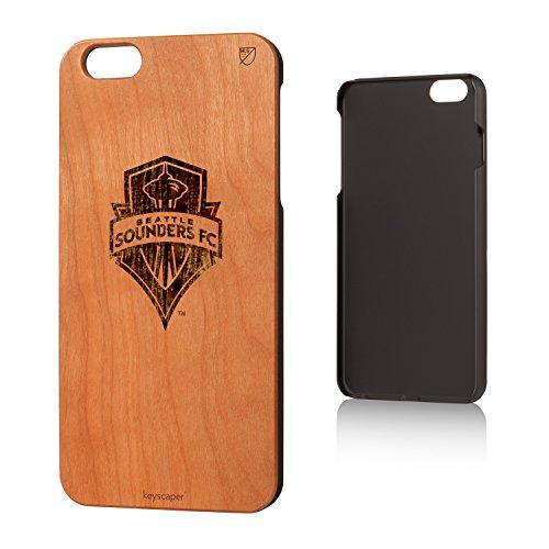 Seattle Sounders Cherry Wood iPhone 6 Plus / iPhone 6s Plus Case - Seattle Wood Shop