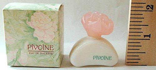 Yves Rocher Pivoine Miniature Eau De Toilette Perfume .25oz/7.5ml