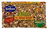 Hambeens Cajun 15 Bean Soup 20oz Bag (Pack of 6)