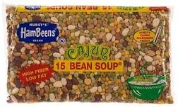 Hambeens Cajun 15 Bean Soup 20oz Bag (Pack of 6) by Hurst's